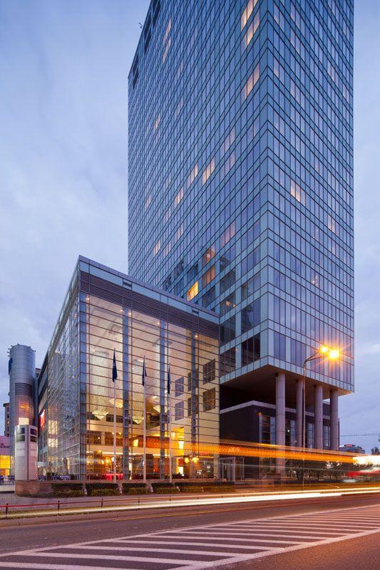 Hotel Hilton in Warsaw | Poland © Piotr Krajewski pkrajewski.pl