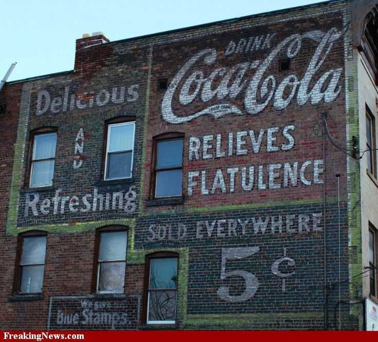 Coca Cola Advertising Pictures_Coke stayed the same price from late 1800's to the 40's -50's