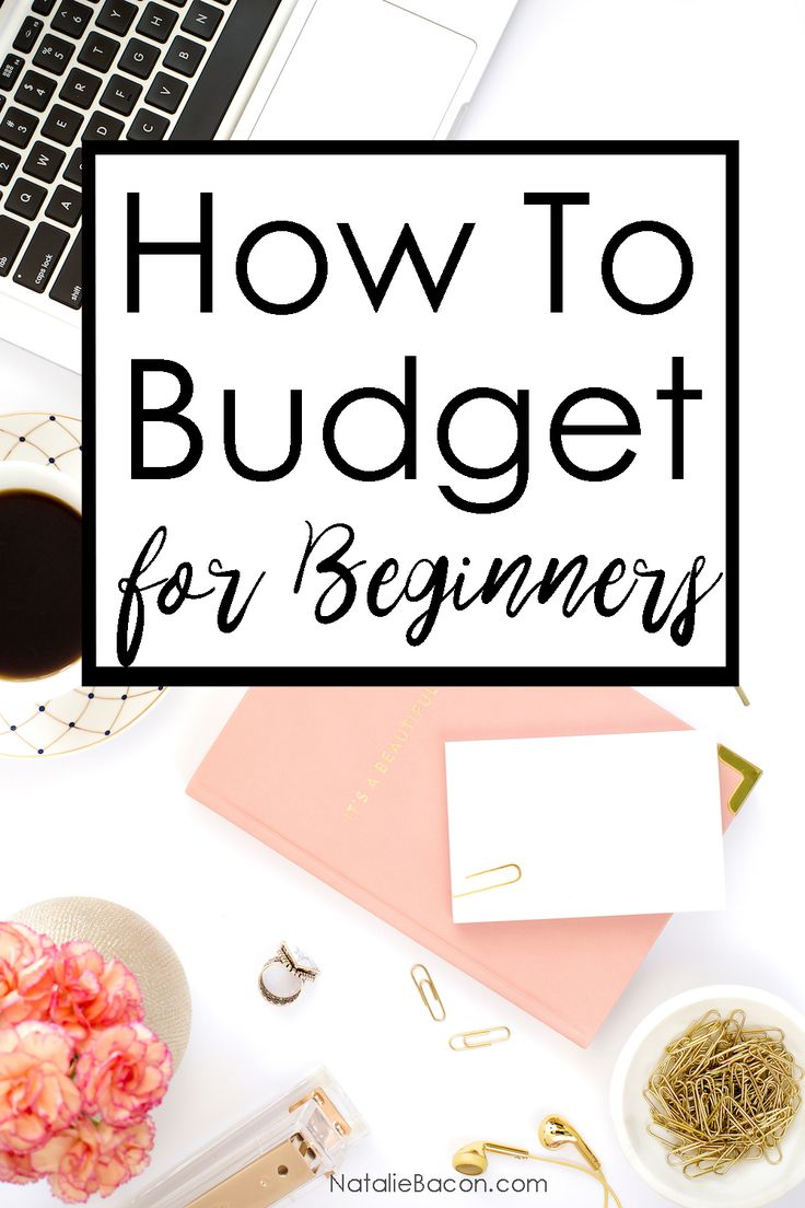 How to Budget for Beginners | NatalieBacon.com
