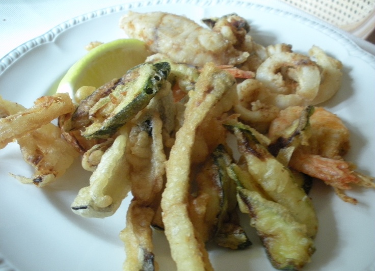 and then as main course... Frittura di Pesce!