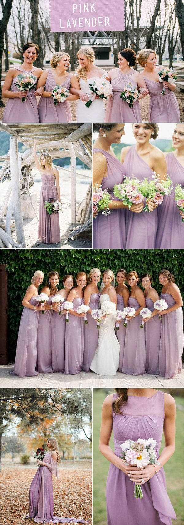77 best bridesmaid dresses images on pinterest bridal gowns pink lavender bridesmaid dresses for 2018 wedding trends ombrellifo Gallery