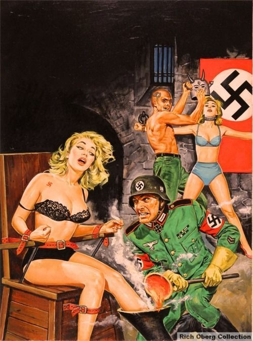 pulp nazi illustration art - Google Search