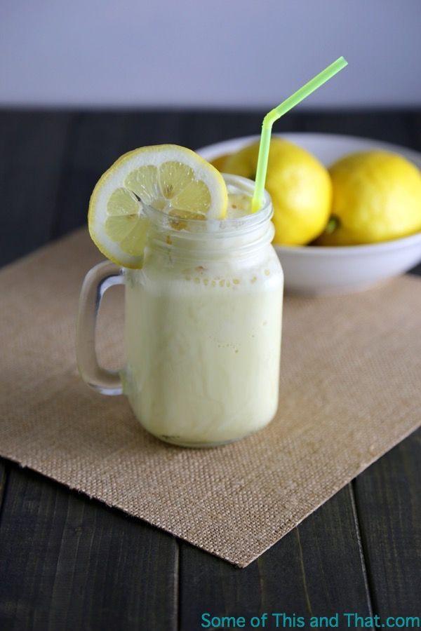 Homemade Frozen Lemonade Recipe!
