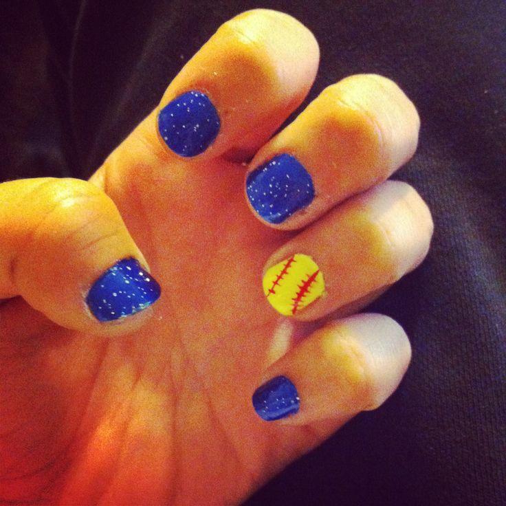 Softball nails!