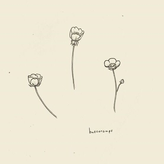 The 25 best simple flower tattoo ideas on pinterest for Minimal art tattoo
