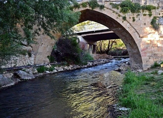 Bridge-White bridge-Akköprü-Constructive: Unknown-Year built: Unknown-Yeşildere-Karaman