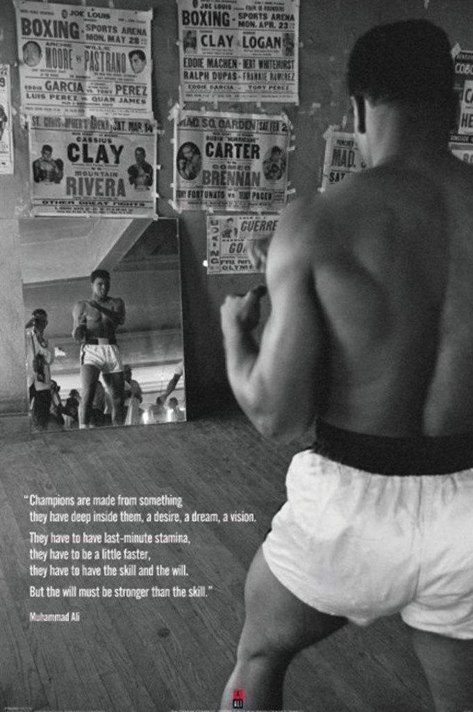 Muhammad Ali - Gym - Official Poster