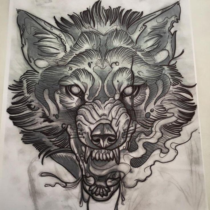 "342 Me gusta, 33 comentarios - Phil Kaulen Tattoo (@blutjugend) en Instagram: ""Start of the full backpiece of my main man @primefightcgn827 #elektrotine #tattoo #tattooköln…"""