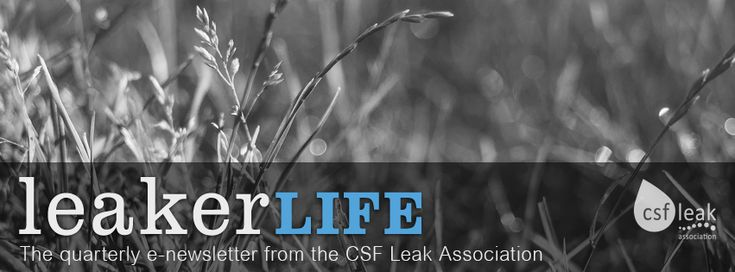 Leaker Life Newsletter - Issue No.2 - Autumn 2016
