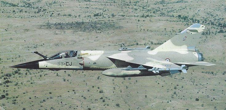 Mirage F1CR au-dessus du Tchad (Source Armée de l'Air).