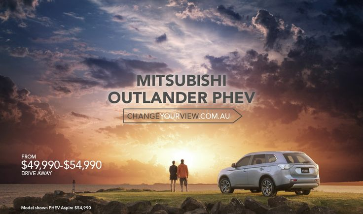 Thinking that future technology is too expensive? The #Outlander #PHEV will #ChangeYourView!