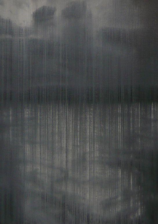 "Saatchi Online Artist: Akihito Takuma; Oil 2007 Painting ""Lines of Flight,op.276"""