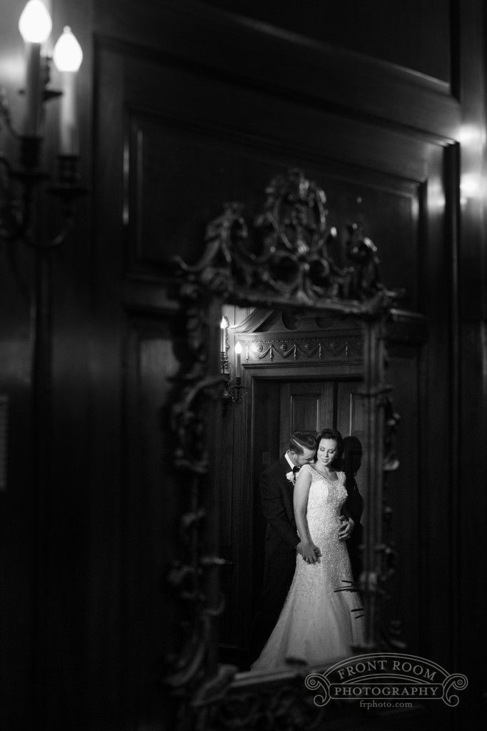 Amanda and Zach's Old School Beauty Shines at Grain Exchange Wedding!