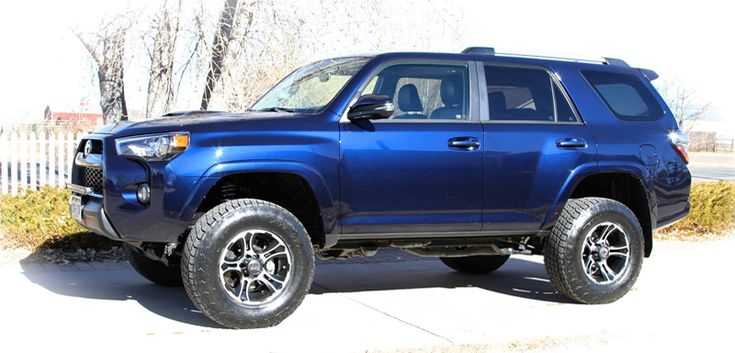 Lifted Toyota 4runner 4runner Trail Edition Was