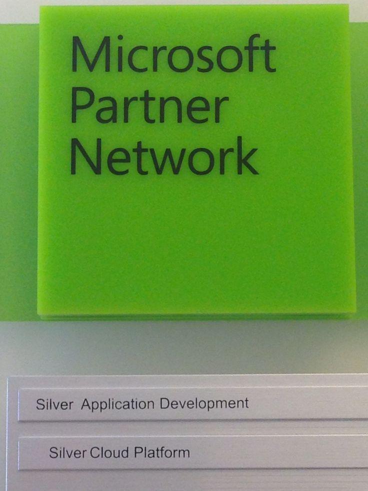 Da oggi orgogliosi di poter aggiungere al #Microsoft Partner Network il titolo di Silver #Cloud Platform