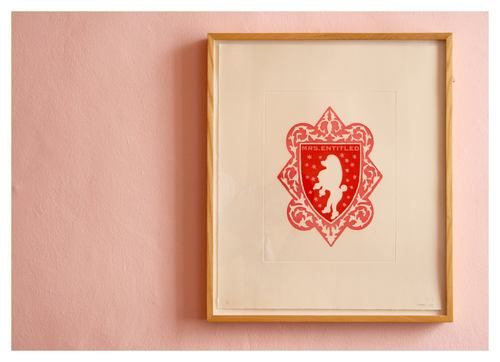 Brett Murray | 'Mr & Mrs Entitled'  (6/20) | Aquatint on Somerset Textured Soft White | 51,5 x 44,5 cm