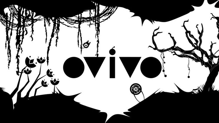OVIVO is a new indie game that impresses with beautiful B&W art