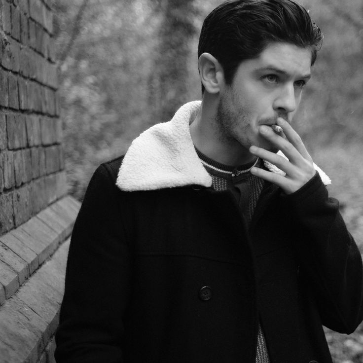 AND THEN...THERE'S THIS MAN. Iwan Rehon...he also has a beautiful voice.