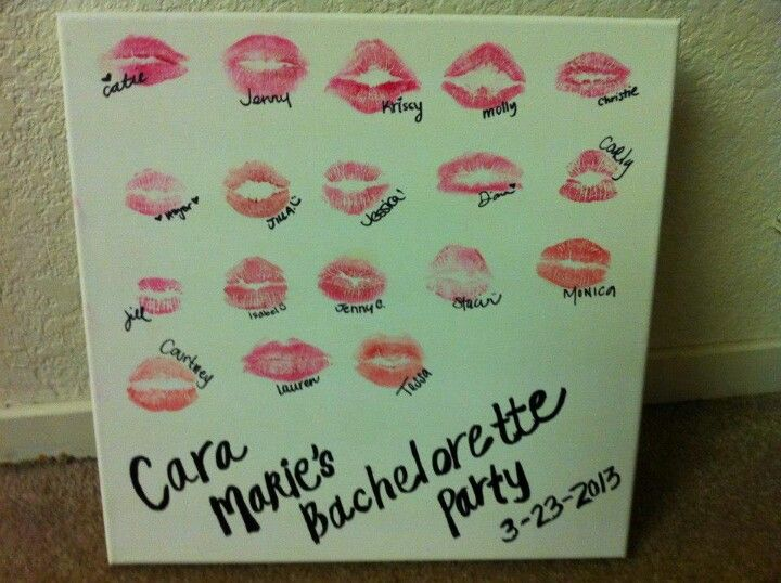 Bachelorette Party Memento