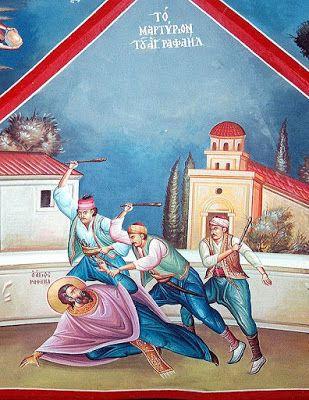 Πνευματικοί Λόγοι: Το μαρτύριο των Αγίων Ραφαήλ, Νικολάου και Ειρήνης...