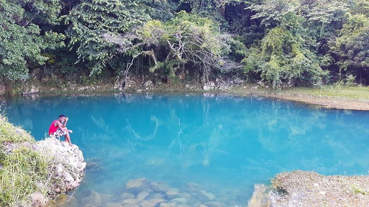 Somewhere on the Appleton Estate http://www.jamaicamyway.com/jamaicas-hidden-treasures/blue-river-appleton-estate/