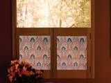 Picture frame fabric cafe shutters