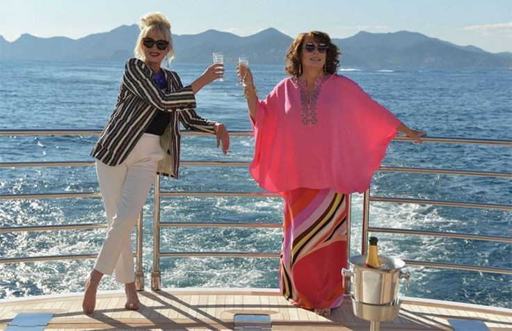 The teaser trailer for the Absolutely Fabulous movie is finally here