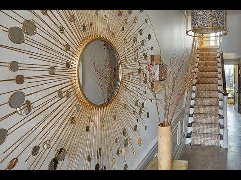 أحدث ديكورات المرايا ديكورات مداخل البيوت اجمل اشكال مرايات ممرات Mirrors Home Entrance Youtube Mirror Decor Mirror Decor