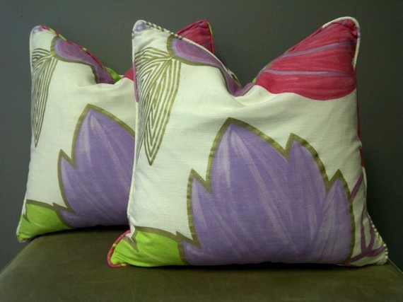 Purple And Lime Green Throw Pillows : 121 best images about *Green & Purple Cushion* on Pinterest Owl pillows, Ring bearer pillows ...