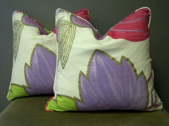 121 best images about *Green & Purple Cushion* on Pinterest Owl pillows, Ring bearer pillows ...