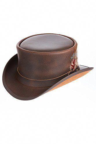 9539550f Steampunk Victorian Marlow Leather Top Hat #womensfashionedgyhats ...