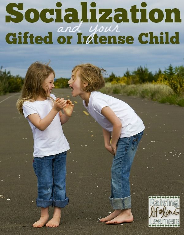 Socialization and Your Gifted or Intense Child via www.RaisingLifelongLearners.com