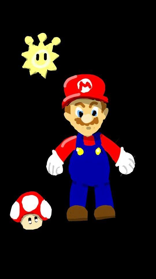 Snapchat art. Mario