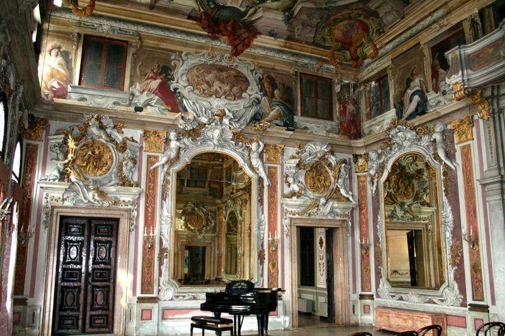 Venice Italy Venetian Palazzo Interiors January 2011
