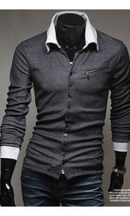 Zipper Long Sleeve Sweater
