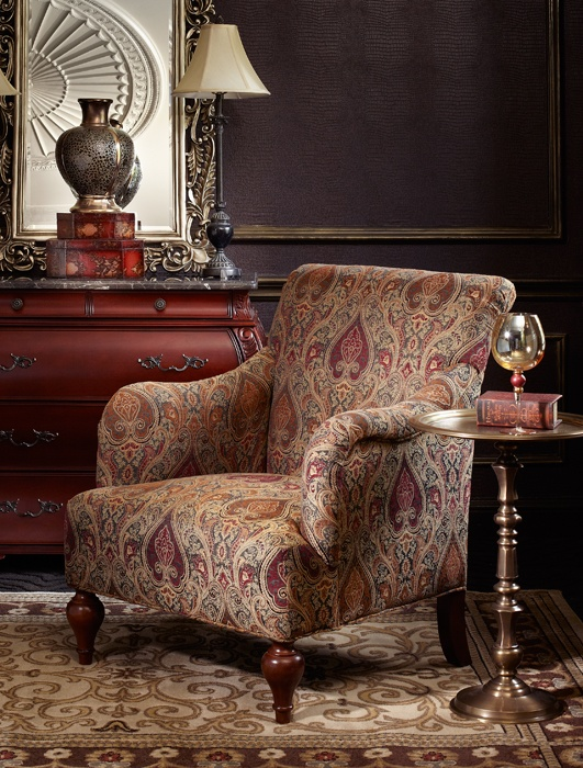 Huntington Accent Chair Bombay Canada Living Spaces By