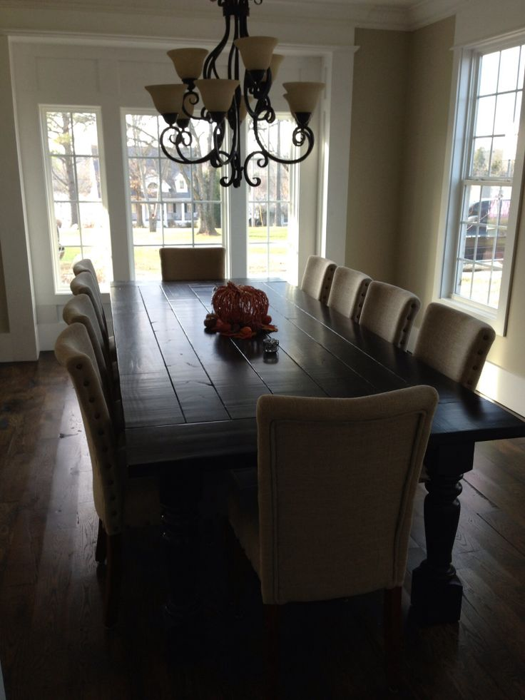 114 Best Farmhouse Tables Images On Pinterest  Dining Rooms Home Stunning Dining Room Tables That Seat 10 Inspiration