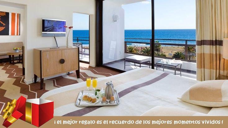 😍🍹🥐¡Buenos días Princesa! ¿Te apetece desayunar en la cama o en la terraza con vista a la playa de Maspalomas? Hotel Seaside Palm Beach Maspalomas ¡Momentos Únicos!