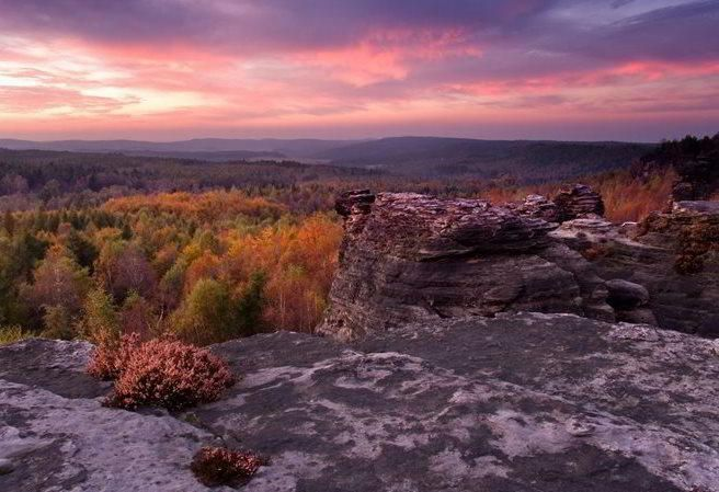 Tiské stěny - ráj pro turisty a horolezce