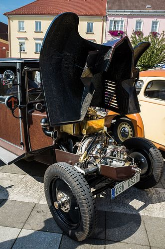 Tatra 12 air cooled engine | by The Adventurous Eye