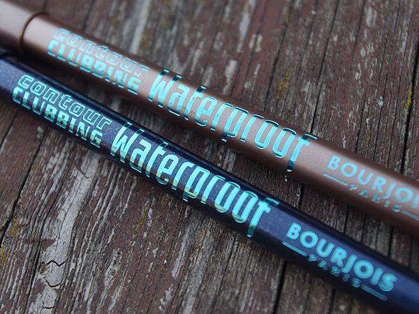 Bourjois Contour Clubbing vízálló szemceruzák - A sminkecset kezelése http://kezelese.hu/2014/08/09/bourjois-contour-clubbing-vizallo-szemceruzak/