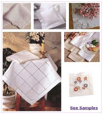 Wholesale Linens & Embroidery Supplies