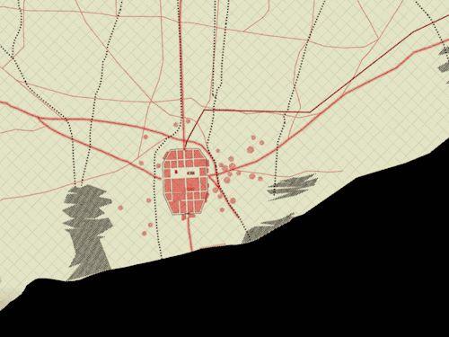 Een mooie reis door de stedenbouwkundige geschiedenis van Barcelona in de website Carta Historica de Barcelona. Het Urban-planning en data-visualisatie collectief 300.000 Km/s heeft een website ontwikkeld dat bestaat uit een interactieve kaart waar je verschillende lagen over elkaar heen kan leggen.