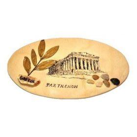 Wooden frame-Parthenon