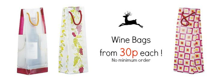 These Frosted Plastic bags are made with 6 mil plastic and a reinforced fold over top for extra strength. They have rope handles and a side and bottom gusset. Perfect for carrying a bottle of wine. Plastic Wine Bottle Bags - 11.4 x 8.8 x 35.5 cm