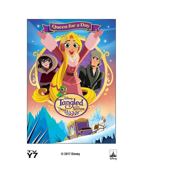 Tangled Before Ever After: Queen Rapunzel (Dvd)