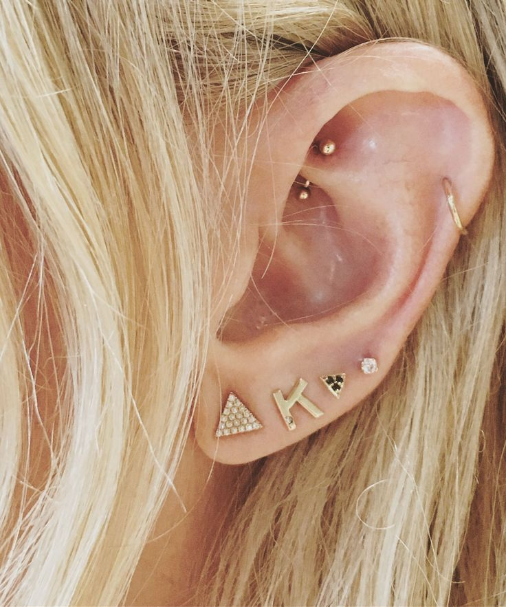 Move over nipples, it's all about the Daith now.