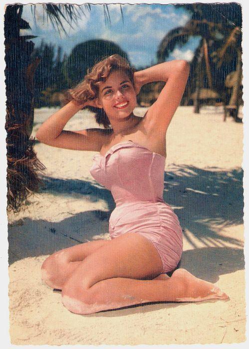 vintage pin up photo maillot de bain image années 50