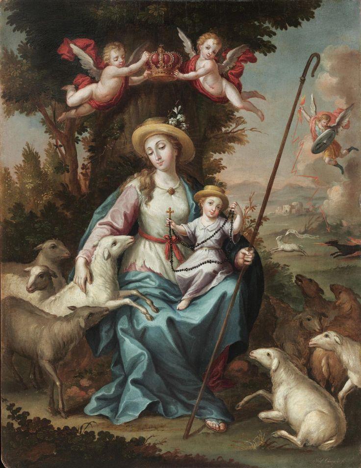 Resultado de imagen para buen pastor, maria divina pastora