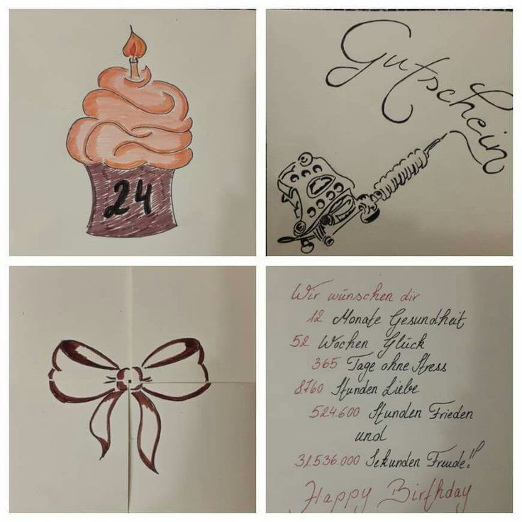 tattoo gutschein geburtstagsgeschenk bissle zeichnen und so geschenke geburtstag und. Black Bedroom Furniture Sets. Home Design Ideas